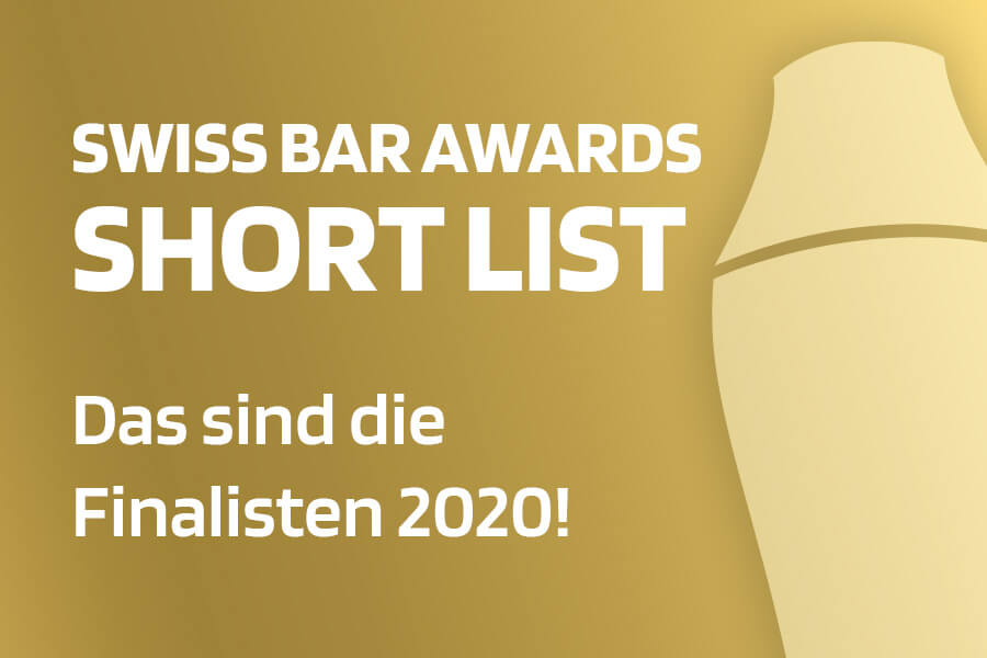 Short List SWISS BAR AWARDS 2020